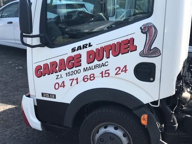 dépannage de véhicules à Mauriac | Garage Dutuel